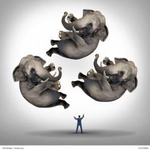 Stressmanagement - Die Elefanten in der Luft halten